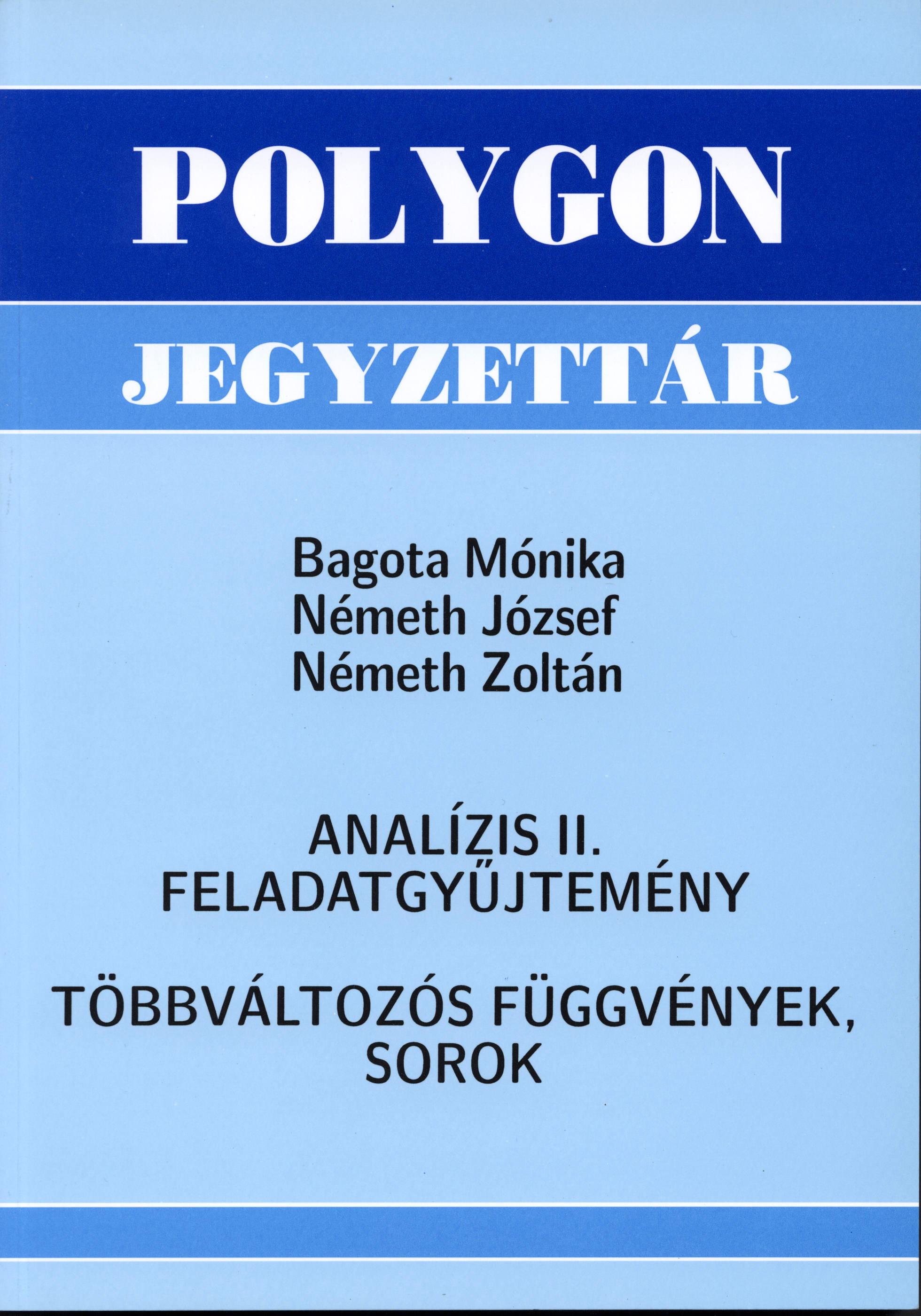 Analízis II. feladatgyűjtemény - Polygon jegyzet